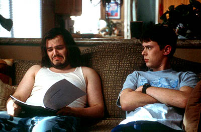 Colin Hanks Jack Black and  in Paramount's Orange County - 2002