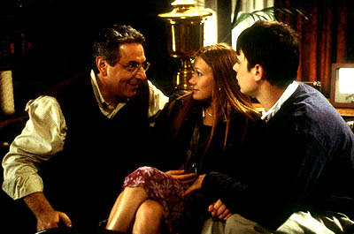 Harold Ramis , Schuyler Fisk and Colin Hanks in Paramount's Orange County - 2002