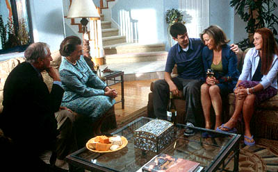 Garry Marshall , Dana Ivey, Colin Hanks, Catherine O'Hara and Schuyler Fisk in Paramount's Orange County - 2002