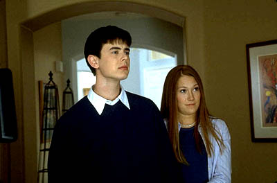 Colin Hanks  and Schuyler Fisk in Paramount's Orange County - 2002