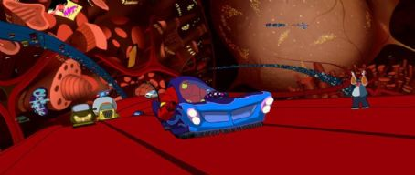 Osmosis Jones David Hyde Pierce and Chris Rock in Warner Brothers'  - 2001