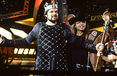 Oliver Platt  and Joe Pantoliano in Warner Brothers' Ready To Rumble - 2000
