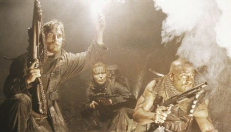 Reign of Fire Christian Bale, Izabella Scorupco and Matthew McConaughey in Touchstone's  - 2002