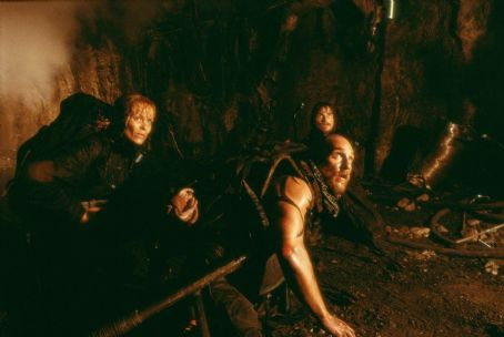 Reign of Fire Izabella Scorupco, Matthew McConaughey and Christian Bale in Touchstone's  - 2002