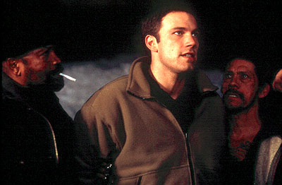Danny Trejo Clarence Williams III, Ben Affleck and  in Dimension's Reindeer Games - 2000