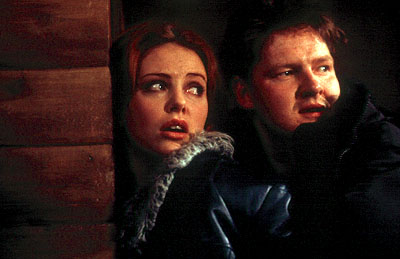 Donal Logue Charlize Theron and  in Dimension's Reindeer Games - 2000