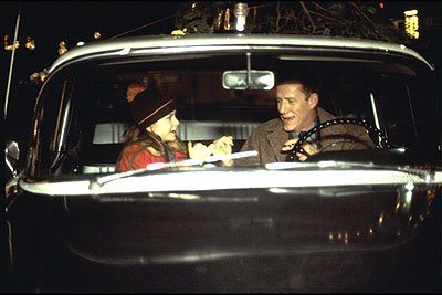 Mika Boorem  and James Woods in Columbia's Riding in Cars with Boys - 2001
