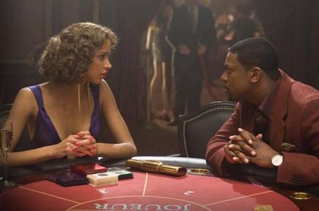 Noémie Lenoir  as Genevieve and Chris Tucker as James Carter in Rush Hour 3 - 2007
