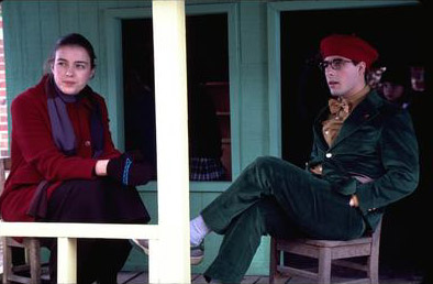 Olivia Williams  and Jason Schwartzman in Touchstone's Rushmore - 1998
