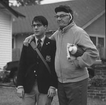 Jason Schwartzman  and Seymour Cassel in Touchstone's Rushmore - 1998