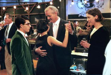 Jason Schwartzman , Sara Tanaka, Bill Murray and Olivia Williams in Touchstone's Rushmore - 1998
