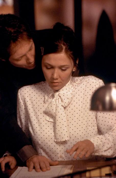 Secretary James Spader and Maggie Gyllenhaal in Lions Gate's  - 2002