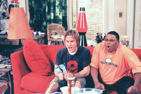 Anthony Anderson David Arquette as Gordon and  as Benny in John Whitesell's 2001 comedy See Spot Run, released by Warner Bros