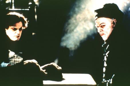 Eddie Izzard  and Willem Dafoe in Lions Gate's Shadow of the Vampire - 2000