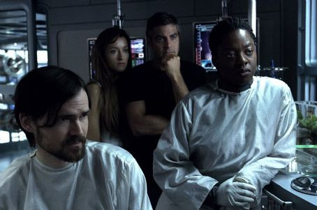 Jeremy Davies , Natascha McElhone, George Clooney and Viola Davis in 20th Century Fox's Solaris - 2002