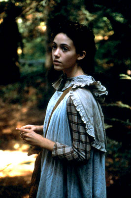 Songcatcher Emmy Rossum as Deladis Slocumb in Lions Gate's  - 2001