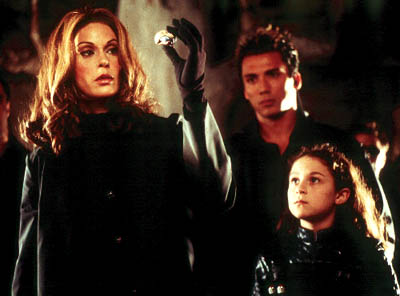Carmen Cortez Teri Hatcher and Alexa Vega in Dimension's Spy Kids - 2001
