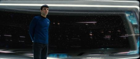 "Star Trek Zachary Quinto stars as Spock in ""."" Photo credit: Industrial Light & Magic. Copyright © 2008 by PARAMOUNT PICTURES.  All Rights Reserved."