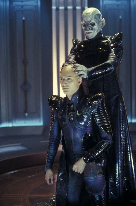 Tom Hardy  as Shinzon and Ron Perlman as his Reman Viceroy in Paramount's Star Trek: Nemesis - 2002