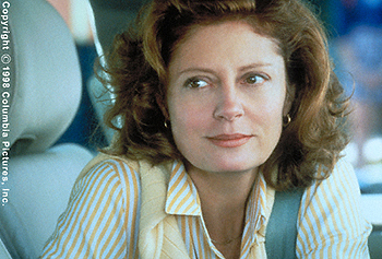 Stepmom Susan Sarandon in