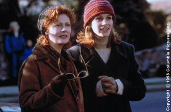 Stepmom Susan Sarandon and Julia Roberts in