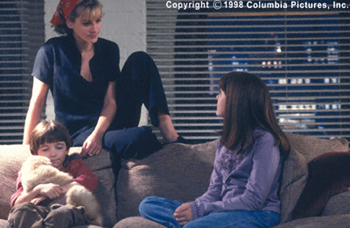 Stepmom Liam Aiken, Julia Roberts and Jena Malone in