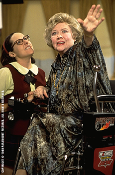Glynis Johns Molly Shannon and  in Superstar - 10/99