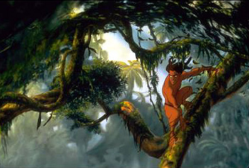 Tarzan The enigmatic  in Disney's  - 1999