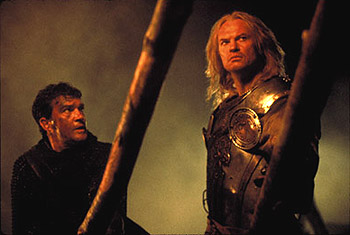The 13th Warrior Antonio Banderas and Vladimir Kulich in