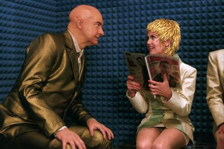 Randy Quaid  and Lana Underwood in The Adventures of Pluto Nash - 2002