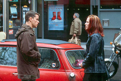The Bourne Identity Matt Damon and Franka Potente in Universal's  - 2002