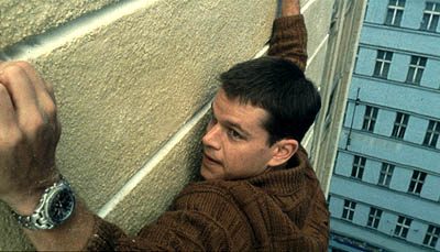 The Bourne Identity Matt Damon as Jason Bourne in Universal's  - 2002