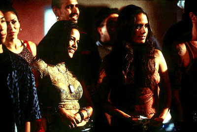 Mia Toretto Michelle Rodriguez and Jordana Brewster in Universal's The Fast and The Furious - 2001