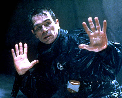 The Fugitive Tommy Lee Jones is Lt. Gerard in  - 1993