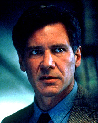 The Fugitive Harrison Ford is Dr. Richard Kimble in  - 1993