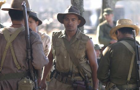 Cesar Montano  as CAPTAIN PAJOTA in John Dahl's THE GREAT RAID. Photo Pierre Vinet Courtesy: Miramax Films