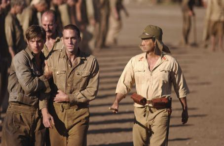 Logan Marshall-Green Left to right: Logan Marshall Green as LT. COLVIN and Joseph Fiennes as MAJOR GIBSON in John Dahl's THE GREAT RAID. Photo Pierre Vinet Courtesy: Miramax Films