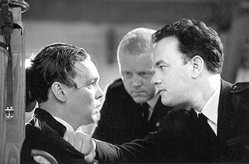 The Green Mile Doug Hutchison, David Morse and Tom Hanks in Castle Rock's  - 12/99