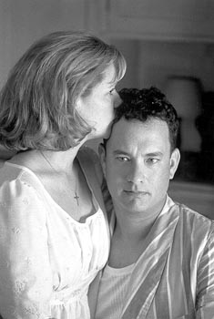 The Green Mile Bonnie Hunt and Tom Hanks in Castle Rock's  - 12/99