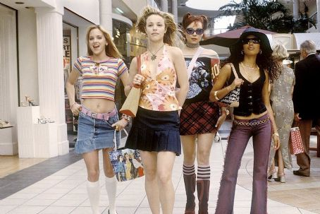 Alexandra Holden Rachel McAdams, center left, Anna Faris, , Maritza Murray in Touchstone's The Hot Chick - 2002
