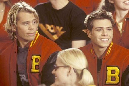 Eric Christian Olsen Matthew Lawrence and  in Touchstone's The Hot Chick - 2002