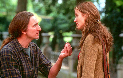 Christopher Eccleston  and Cameron Diaz in Fine Line's The Invisible Circus - 2001