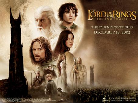 Christopher Lee New Line's The Lord Of The Rings: The Two Towers - 2002