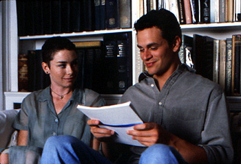 Julianne Nicholson  and Tom Everett Scott in The Love Letter