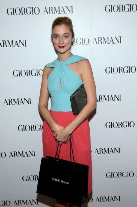 Caitlin FitzGerald Giorgio Armani Beauty Luncheon