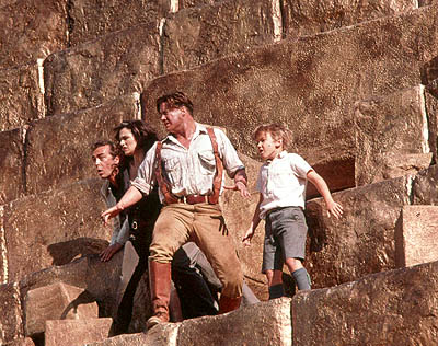 Freddie Boath John Hannah, Rachel Weisz, Brendan Fraser and  in Universal's The Mummy Returns - 2001
