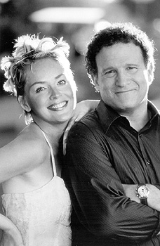 Albert Brooks Sharon Stone and  in USA Films' The Muse - 1999