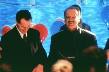 Sam Shepard  and Jack Nicholson in Warner Brothers' The Pledge - 2001