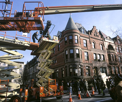 The Royal Tenenbaums The Tenenbaum house, on location in New York City for Touchstone's  - 2001