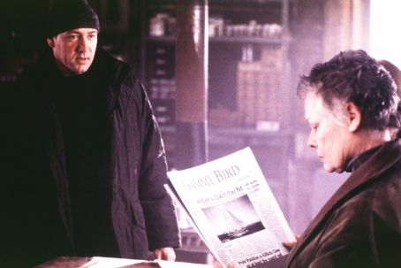 The Shipping News Kevin Spacey and Judi Dench in Miramax's  - 2001